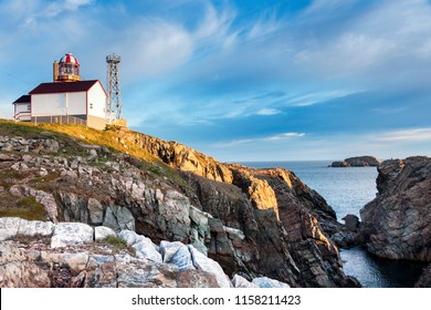 Cape Bonavista Lighthouse, Newfoundland. Bonavista, Newfoundland and Labrador, Canada.
