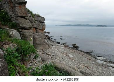 Cape Bruce. Primorye. Russia.