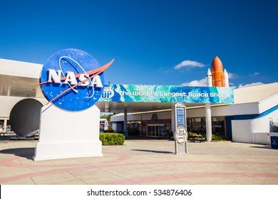 Cape Canaveral, Florida, USA - DEC, 2016: Kennedy Space Center. Editorial use only