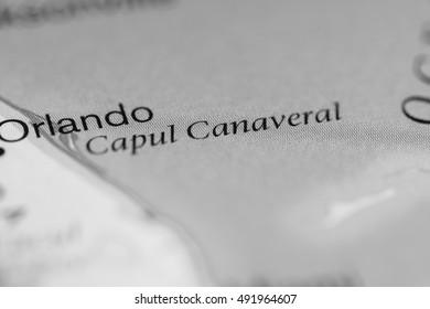 Cape Caneveral. USA.