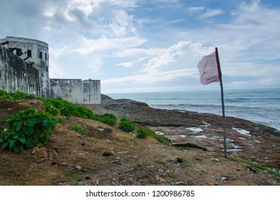 Cape Coast Castle from outside, Ghana.