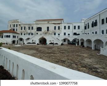 Cape Coast / Ghana - June 12 2011 : Slave Castle