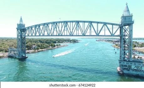 Cape cod canal train bridge