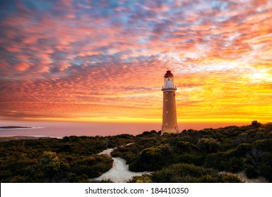 Cape Du Couedic Lighthouse Sunset
