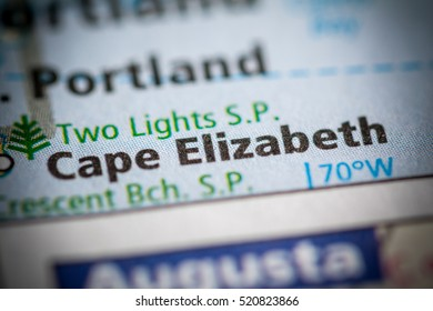 Cape Elizabeth. Maine. USA