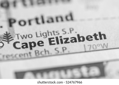 Cape Elizabeth. Maine. USA
