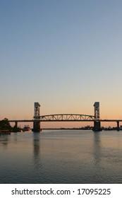 Cape Fear Memorial Bridge in Wilmington, NC