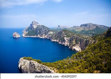 Cape Formentor in Mallorca island, Spain