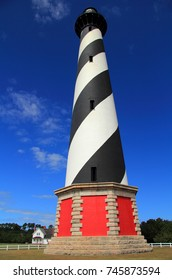 Cape Hatteras Lighthouse, tallest light in North America, Cape Hatteras National Seashore, North Carolina