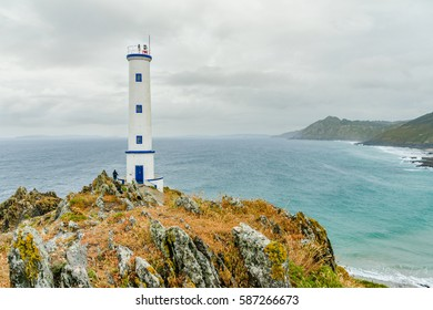 Cape Home lighthouse in Cangas do Morrazo