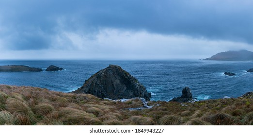 Cape Horn in Cape Horn National Park within Cape Horn Island of Tierra del Fuego Archipelago of Magallanes and Chilean Antarctica Region in Chile, South America