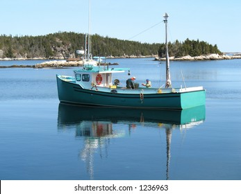 Cape Islander Boat in Nova Scotia