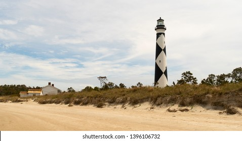 Cape Lookout Lighthouse Core Banks North Carolina Waterfront