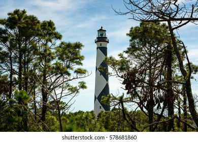 Cape Lookout Lighthouse on the Outer Banks