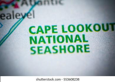 Cape Lookout National Seashore. North Carolina. USA