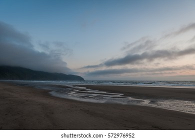 Cape Lookout scenic view at dawn ,Oregon, USA
