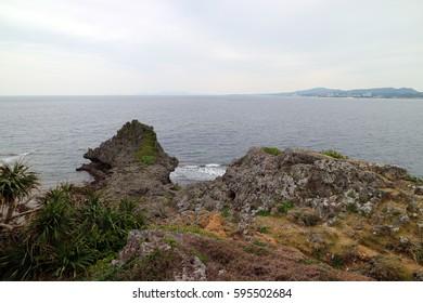 Cape Maeda in Okinawa Japan