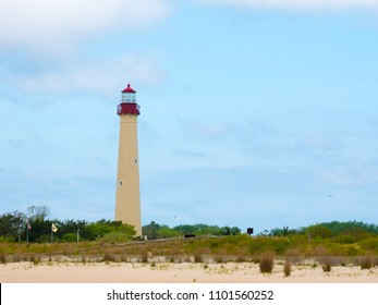 The Cape May Lighthouse, Cape May, NJ, USA