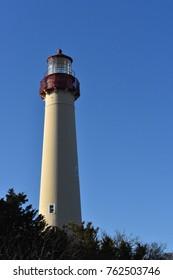 cape may nj lighthouse close up