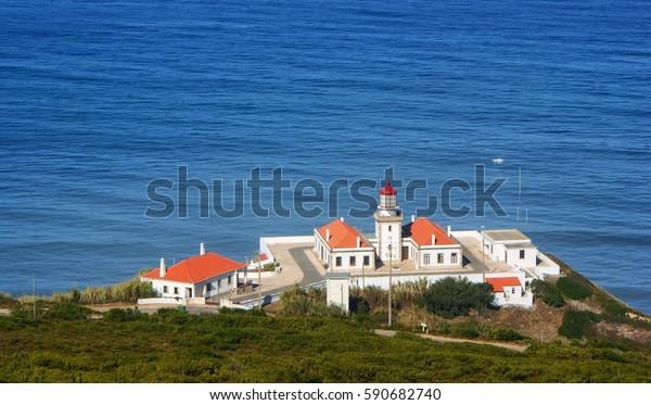 Cape Mondego Lighthouse, Figueira da Foz, Portugal