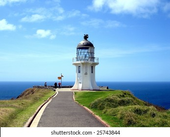 Cape Reinga Lighthouse, northern most tip of New Zealand