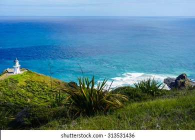 Cape Reinga and the Pacific Ocean
