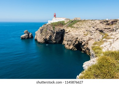 Cape Saint Vincent in Algarve, near Sagres in Portugal