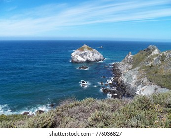 Cape San Martin near Gorda, pacific ocean, highway 1 - Big Sur California