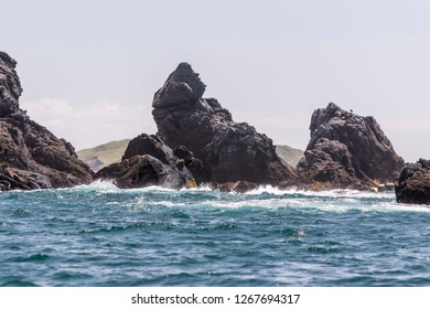Cape Santa Elena, land point further west of Costa Rica