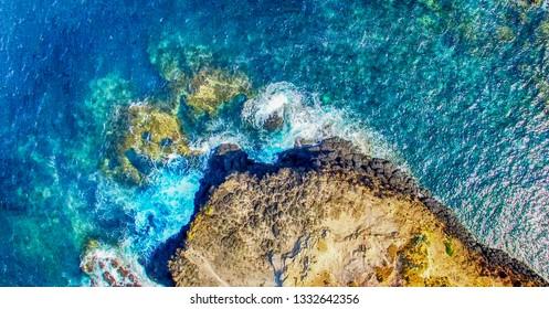 Cape Schanck in Mornington Peninsula - Victoria, Australia - Aerial view.