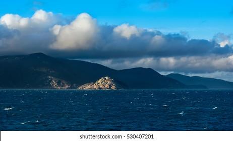 Cape of South East Point, Bass strait, Australia