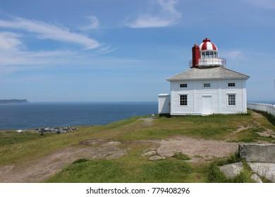 Cape Spear lighthouse in Newfoundland Canada