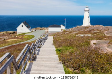 Cape Spear Lighthouse. St. John's, Newfoundland and Labrador, Canada.