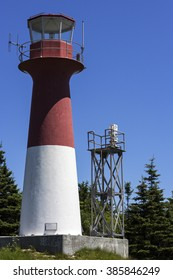 Cape Spencer Lighthouse in New Brunswick in Canada