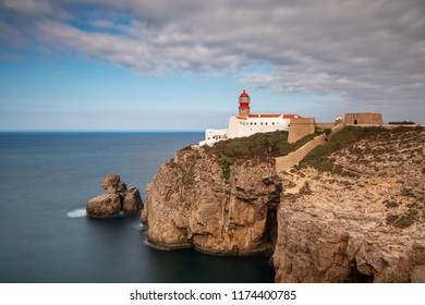 Cape St. Vincent - Ssouthwesternmost point of Portugal and of mainland Europe, Algarve, Portugal