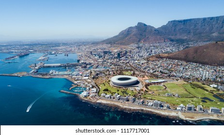 Cape town bird's eye view, best view, South Africa