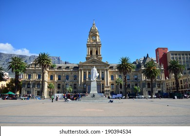 Cape Town City Hall. Front view from Darling street