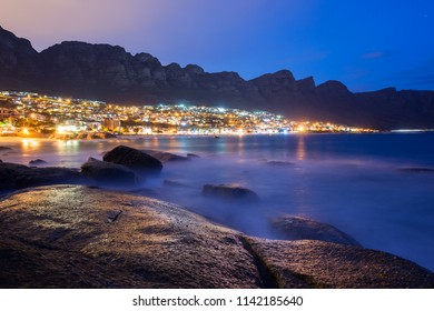 Cape Town night view from Clifton