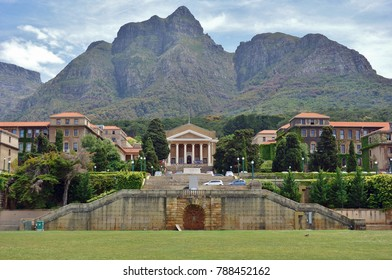 CAPE TOWN, SOUTH AFRICA -28 OCT 2017- View of the campus of the University of Cape Town (UCT), a public research university located in Cape Town, South Africa.