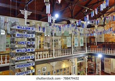 CAPE TOWN, SOUTH AFRICA -28 OCT 2017- View of the District Six Museum, a museum in memory of apartheid located in Cape Town, South Africa.
