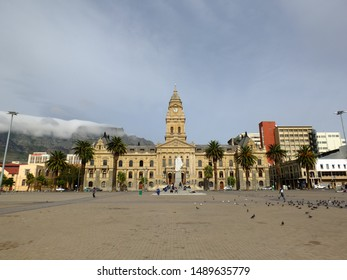 Cape town / South Africa - 29 Apr 2012: City Hall, Cape town, South Africa