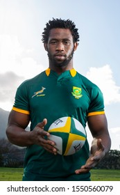 CAPE TOWN, SOUTH AFRICA -  7 28 July 2015, Siya Kolisi, Springbok Rugby player, captained the national rugby side to win the 2019 Rugby World Cup in Japan as the first black African.