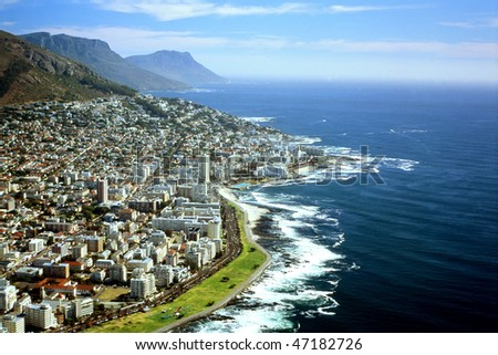 Cape Town - South Africa - Aerial View