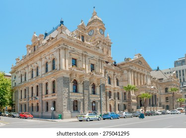 CAPE TOWN, SOUTH AFRICA - DECEMBER 18, 2014: The historic city hall. On February 11, 1990, Nelson Mandela made his first public speech after his release from the balcony