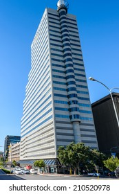 CAPE TOWN, SOUTH AFRICA - FEB 22, 2013: Architecture of Cape Town, South Africa. Cape town is the most popular international touristic destination in Africa
