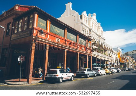 Cape Town South Africa Jan 31 Stock Photo Edit Now 532697455