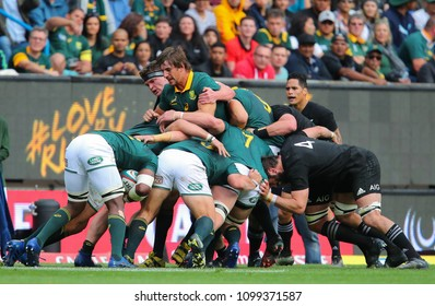 CAPE TOWN, SOUTH AFRICA - Saturday 7 October 2017, Eben Etzebeth (captain) of South Africa during the Castle Lager Rugby Championship Test between South African Springboks and New Zealand All Blacks.