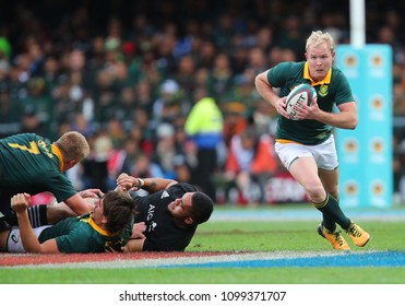 CAPE TOWN, SOUTH AFRICA - Saturday 7 October 2017,  Ross Cronje of South Africa during the Castle Lager Rugby Championship Test between South African Springboks and the New Zealand All Blacks