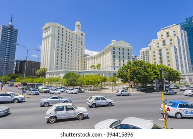 CAPE TOWN SOUTHERN SUN CULLINAN HOTEL, SOUTH AFRICA - JANUARY 7 2016: Cape Town City Centre CBD