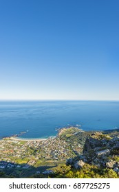 Cape Town Table Mountain and Camps Bay Beach